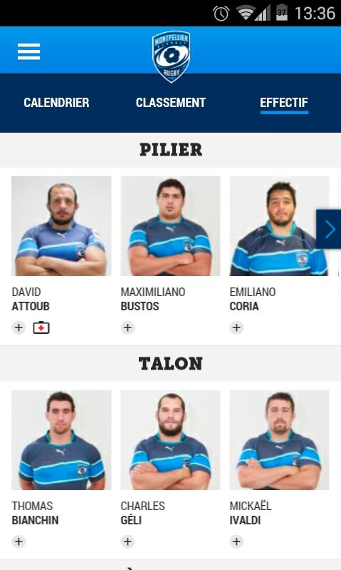 Montpellier Rugby Calendrier.Decouvrez L Appli Mobile Du Mhr Mhr