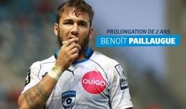 prolongation 2 ans Benoît Paillaugue
