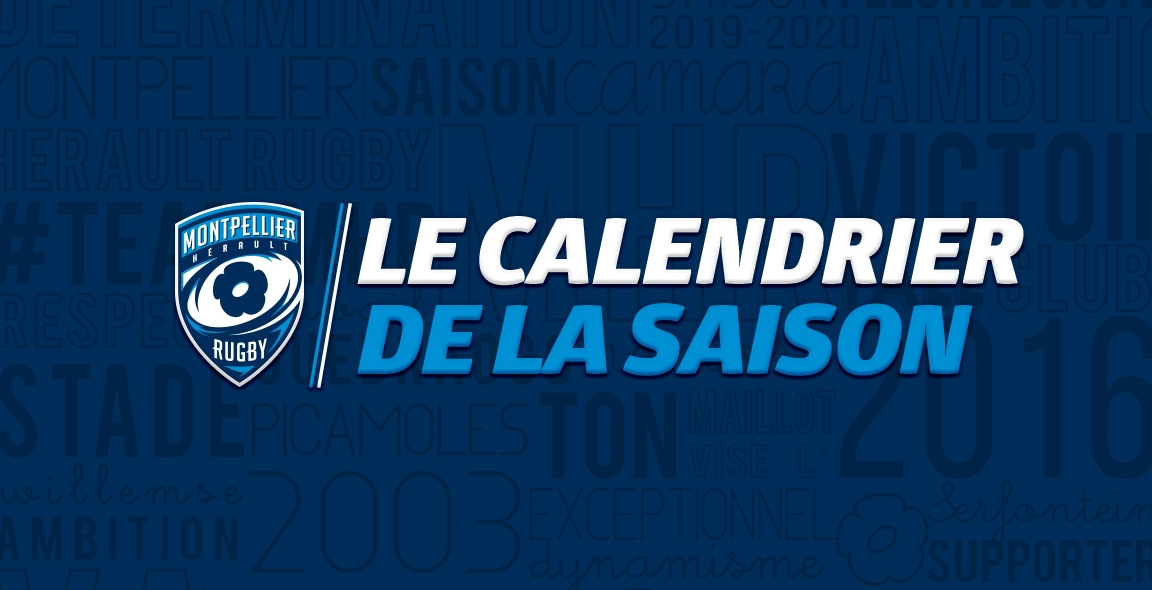 Calendrier Coupe D Europe Rugby 2020.Saison 2019 2020 Le Calendrier Connu Mhr