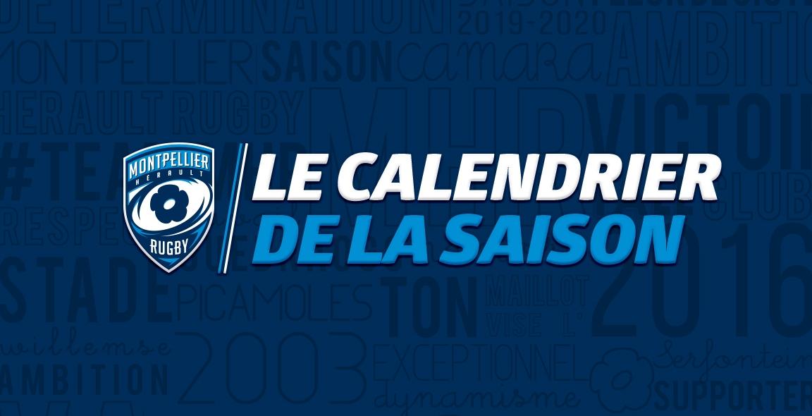 Calendrier Saison 2020.Saison 2019 2020 Le Calendrier Connu Mhr