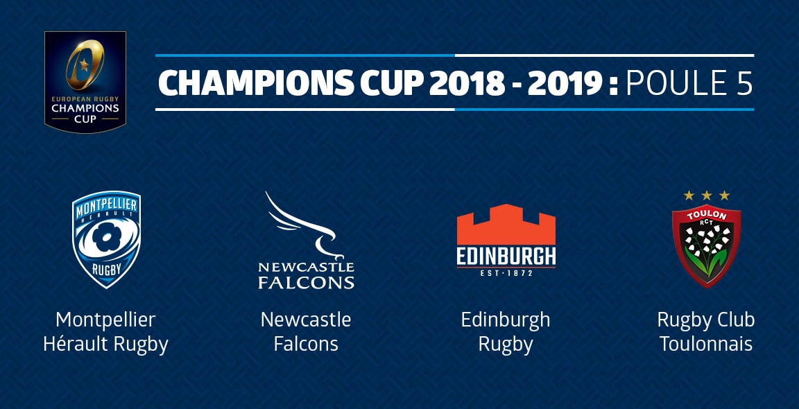 Montpellier Rugby Calendrier.Le Calendrier De Champions Cup 2018 2019 Devoile Mhr