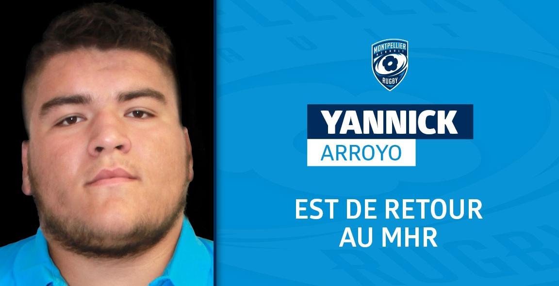 CDF 2020/2021 : Yannick Arroyo de retour de prêt | MHR